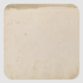 Blank Grungy Antique Stained Paper Stickers