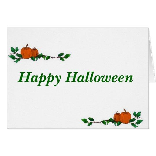Blank Halloween Card