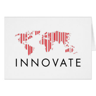 Blank INNOVATE Greeting Cards