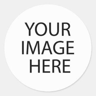 Blank Items for Customization Round Sticker