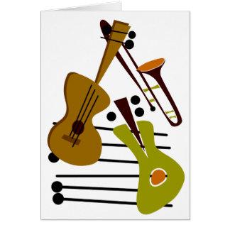 Blank Jazz Card
