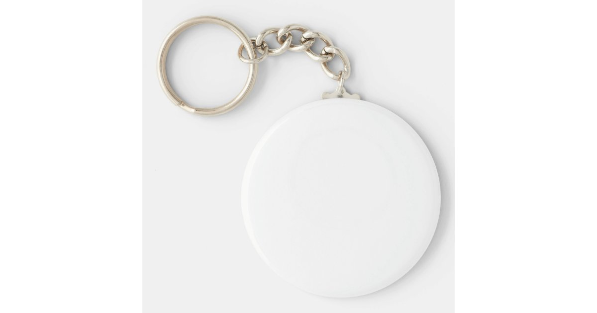 Blank Keychain Template Zazzle Com Au