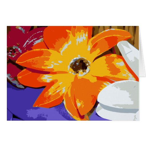 Blank Lily Notecard Greeting Card