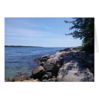 Blank - Maine Coast Card