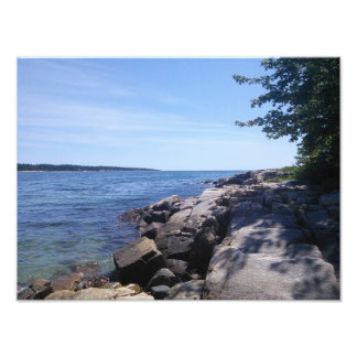 Blank - Maine Coast Photo Print