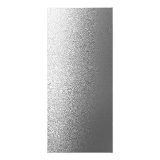 Blank Metallic Design Rack Card