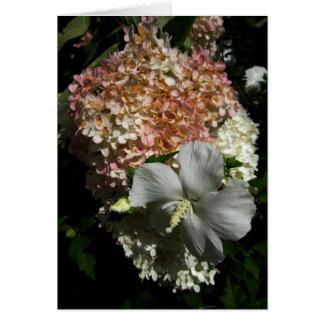 Blank Mixed Flowers Card-1 Card