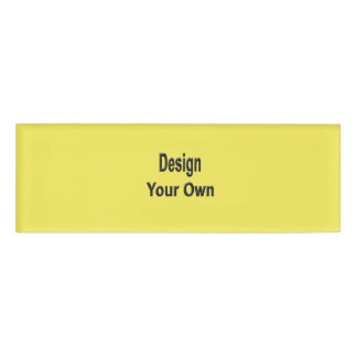 Blank Name Tag
