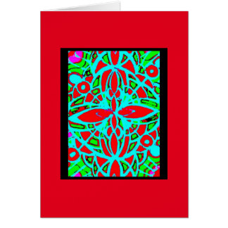 Blank Note Card (Stained Glass)