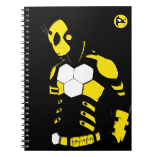 Blank Notebook with Bumble Cutout