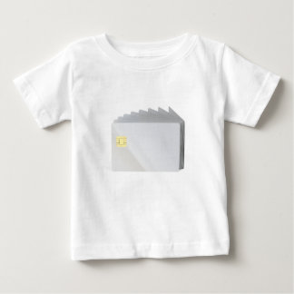 Blank plastic cards with chip baby T-Shirt