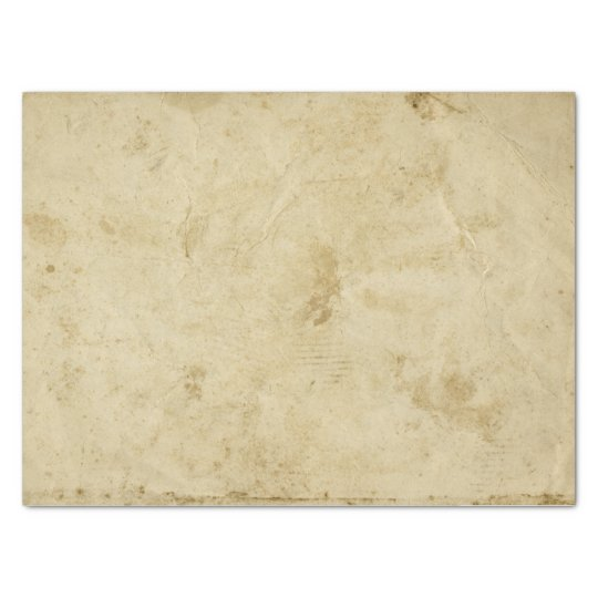 Blank Stained Parchment Beige Antique Retro Tissue Paper