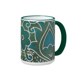 blank standard of flower coffee mugs