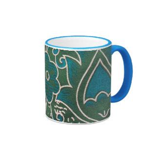 blank standard of flower mugs