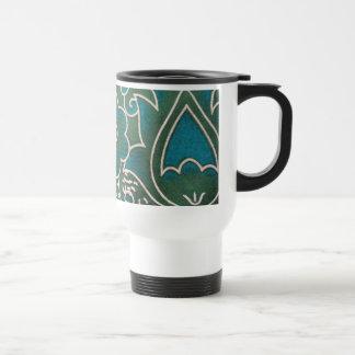 blank standard of flower mug