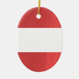 BlanK STRIPE Template DIY add TXT IMAGE EVENT name Ceramic Ornament