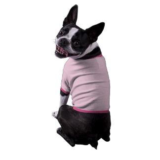 Blank Template Doggy Tshirt Ringer Dog Shirt