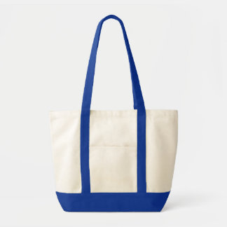 Blank Two Toned Impulse Tote DIY Design Your Own Impulse Tote Bag