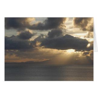 Blank - Vibrant Sunset Card