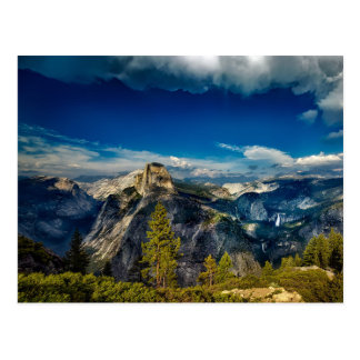 Blank Yosemite Valley in Yosemite National Park Postcard