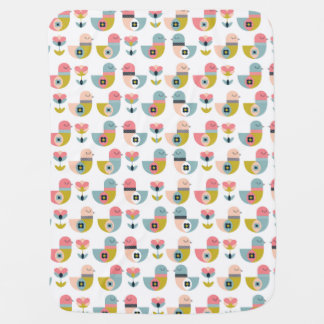 Blanket drinks birds
