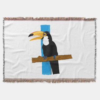 Blanket Happy Toucan