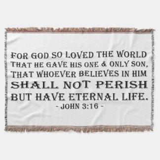 Blanket - John 3:16