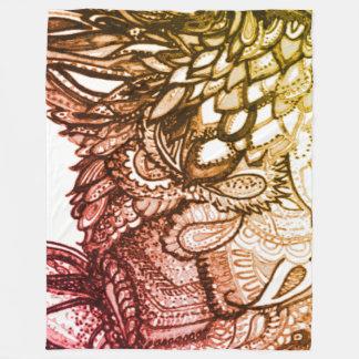 Blanket Zen Tangle Imagination