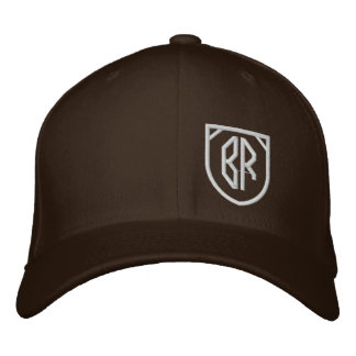 BlaqRiva initials Embroidered Hat