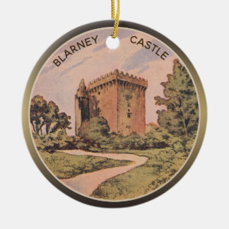 Blarney Castle Ceramic Ornament