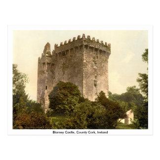 Blarney Castle, Co. Cork, Munster, Ireland Postcard