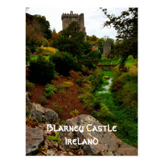 Blarney Castle, Ireland Postcard