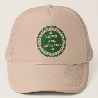 Blarney Is My Middle Name Trucker Hat