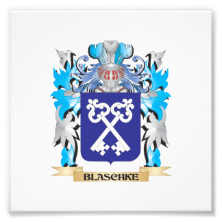 Blaschke Coat of Arms Photograph