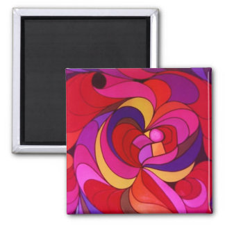 Blast of colors magnet