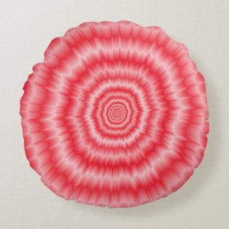 Blast of Pink Round Cushion