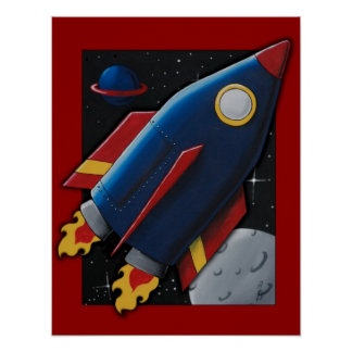 BLAST OFF POSTERS