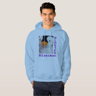 BlastedBlaziken blue hoodie