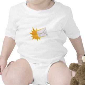 Blasting Letter Baby Bodysuits