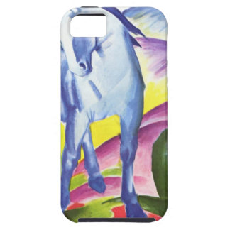 Blaues Pferd I by Franz Marc iPhone 5 Shell iPhone 5 Covers