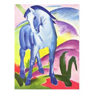 Blaues Pferd I by Franz Marc Postcard