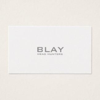BLAY, head hunters Business Card