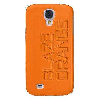 Blaze Orange High Visibility Hunting Galaxy S4 Case