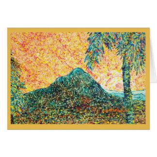 BLAZING DESERT CARD