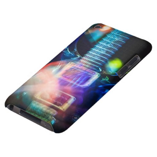Blazing Electric Guitar iPod Touch Case