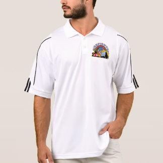 Blazing Firefighter Polo Shirt