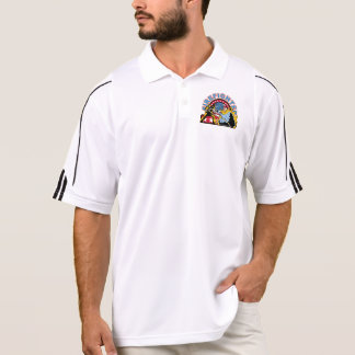 Blazing Firefighter Polo T-shirt