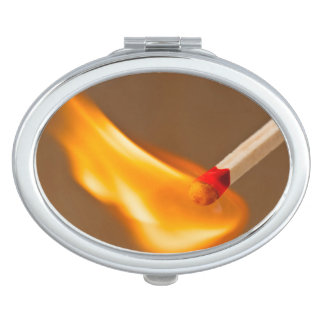 Blazing Flame Makeup Mirrors