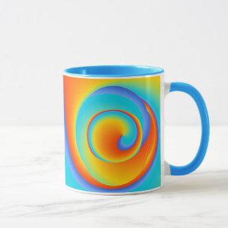 blazing spin - mug