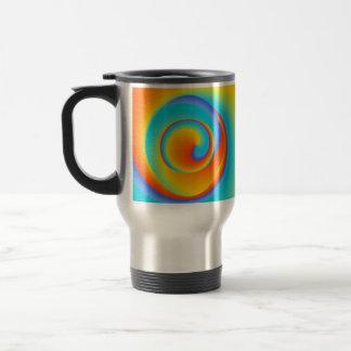 blazing spin - travel mug